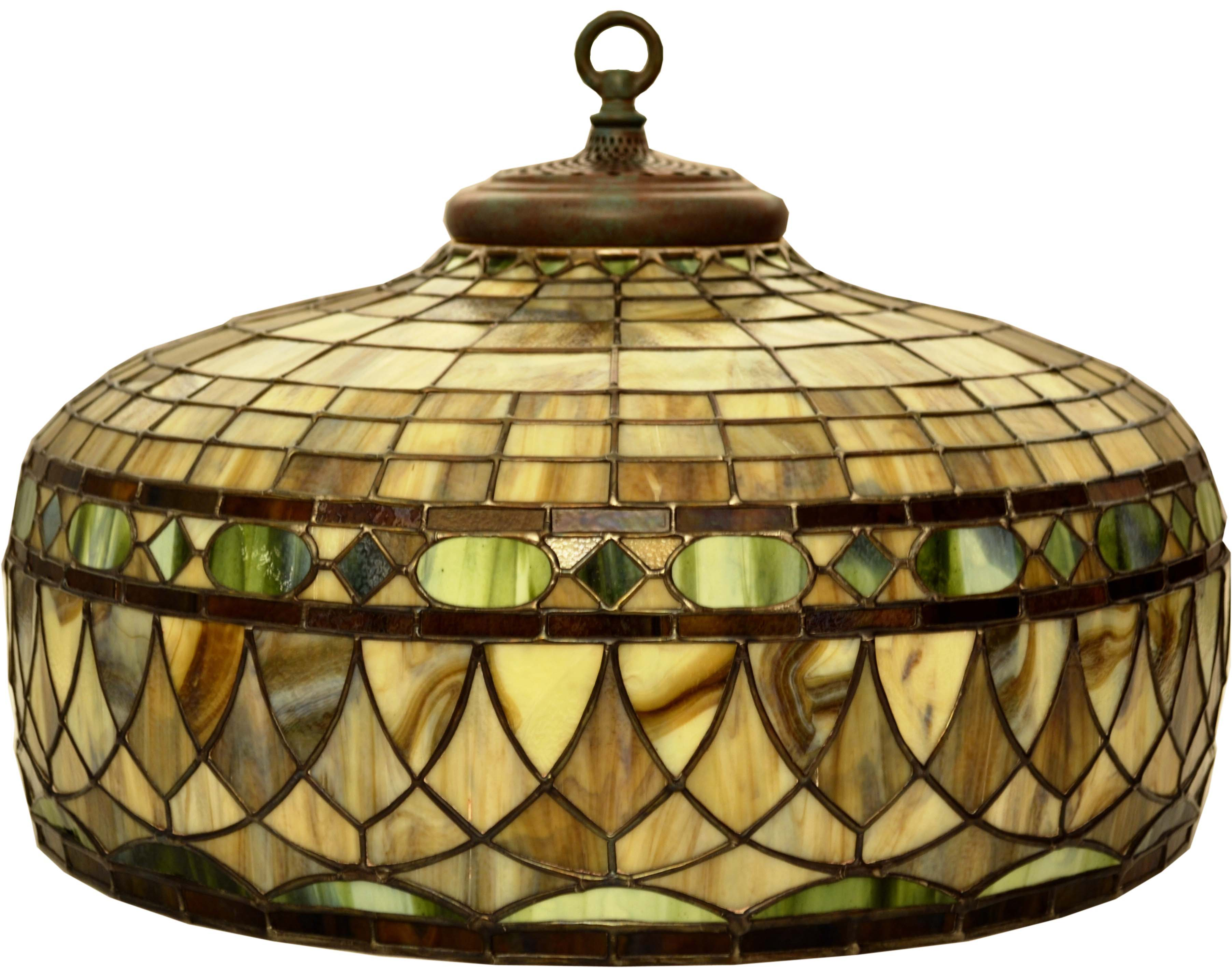 RC 22 2 Honging Head Roman22u0026#039;u0026#039; Diameter,. Stained Glass Lamp Shade  ...